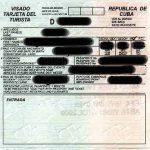 Viajar a Cuba. Visas para viajar a Cuba