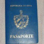 Pasaporte cubano. Actualización del pasaporte