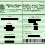 Qué es el CURP, Clave Única de Registro de Población