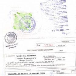 legalizaciones Cuba