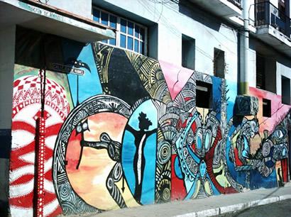 Mural en Callejón de Hamel. Centro Habana