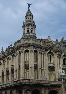 Exterior. Gran Teatro de la Habana