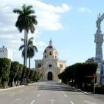 Capilla central del Cementerio de Colón