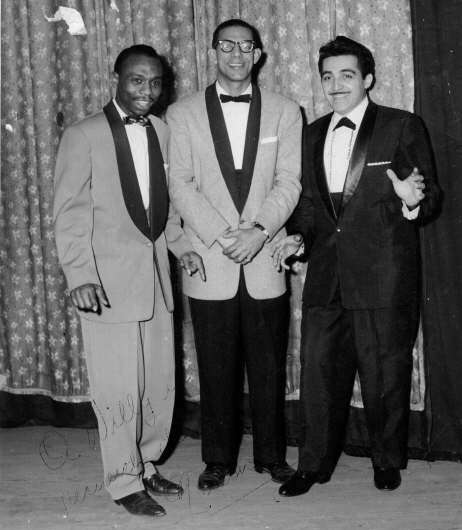 Silvestre Méndez, Willie Rosario y Nelson Pinedo.