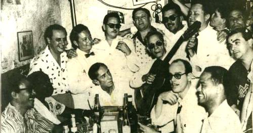 Agustín Lara con Sindo Garay