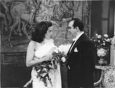 María Félix con Enrique Santiesteban