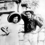 Primer matrimonio del Che en Tepotzotlán. Ernesto Guevara con Hilda Gadea