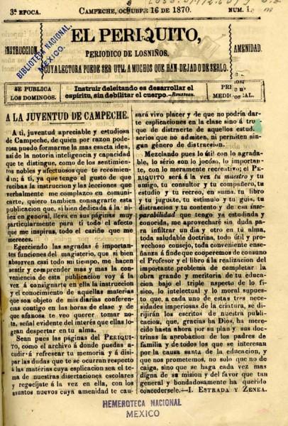 Periquito-Campeche