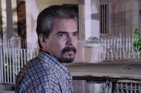 """Rolando Brito en el filme """"Páginas del diario de Mauricio"""""""