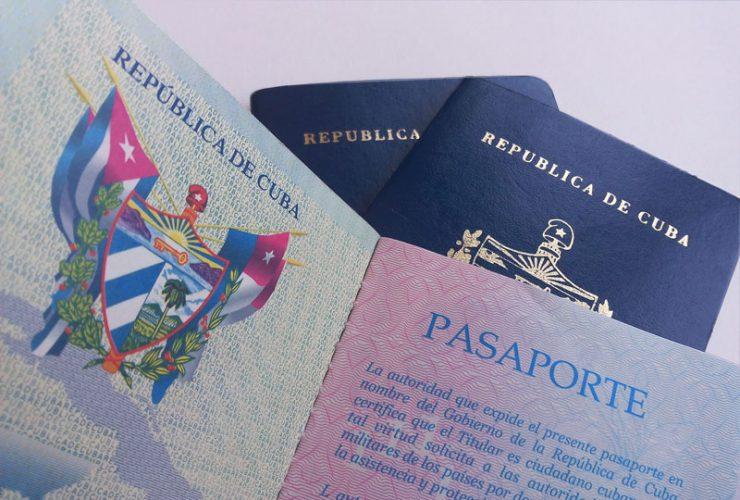 Pasaporte cubano. Solicitud y/o renovación