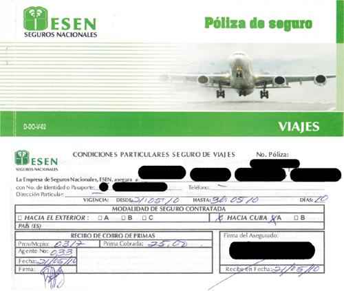 Como Obtener Una Poliza De Seguro Medico Para Viajar A Cuba