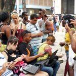 Comunicaciones en Cuba. Espacios públicos de conexión inalámbrica (WIFI)