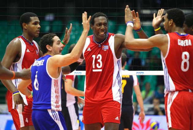 Cuban volleyball players face last qualifying chance for Tokyo 2020