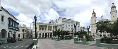 Plaza Céspedes. Santiago de Cuba