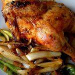 Pollo frito a la criolla