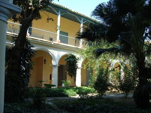 Interior Convento de Santa Clara. Habana