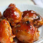 Muslos de pollo con salsa agridulce
