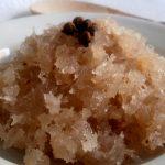 Dulce de coco en almíbar