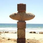 Esculturas cubanas en tierra azteca